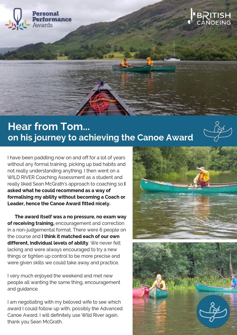 Canoe Award Tom