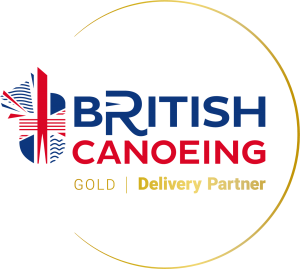 British Canoeing Delivery Partner Gold Full Colour Logo