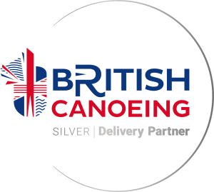 British Canoeing Delivery Partner Silver Full Colour Logo