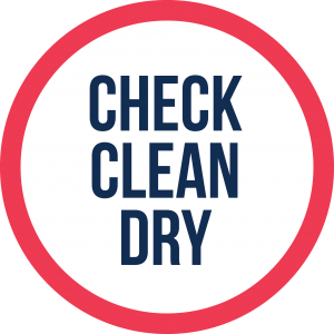 Check Clean Dry