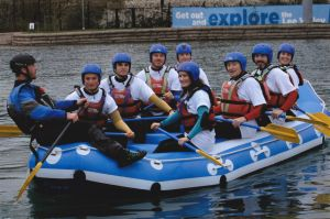 Don Tozer 85 Rafting At Lee Valley White Water Centre For His Birthday  Photo Thrill Pic Media
