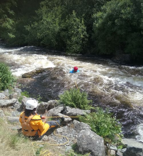 Successful White Water Safety & Rescue Weekend in Wales