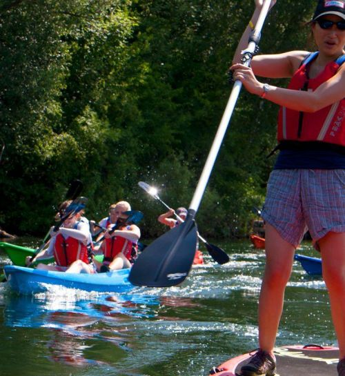 Become a Paddlesport Instructor Tutor and / or Paddlesport Leader Provider