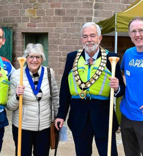 Paddle Peak project kicks off with official launch in Derbyshire!