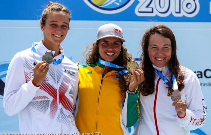 Franklin wins a second silver medal whilst Clarke narrowly misses  the podium