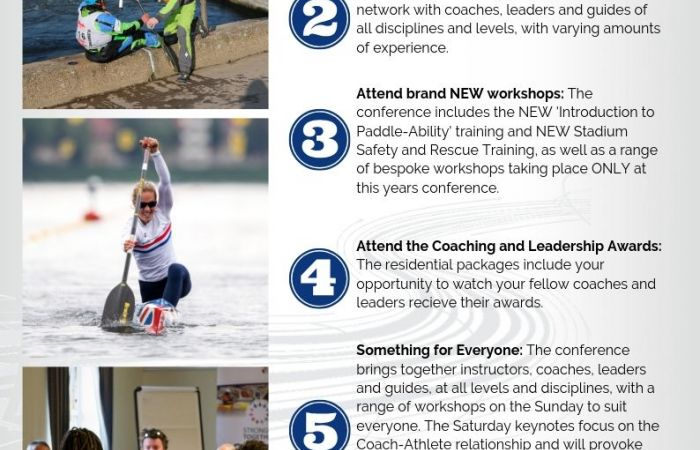 5 reasons to attend the 2019 Coaching and Leadership Conference