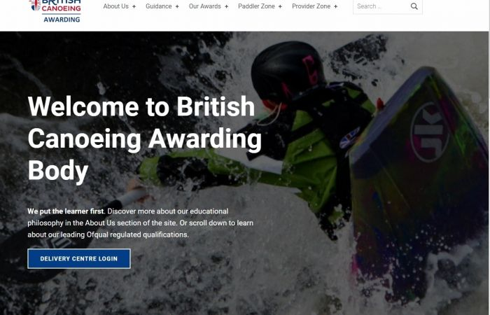 Have you seen the British Canoeing Awarding Body website?