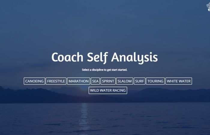 NEW Coach Self Analysis Tool and Digital Library