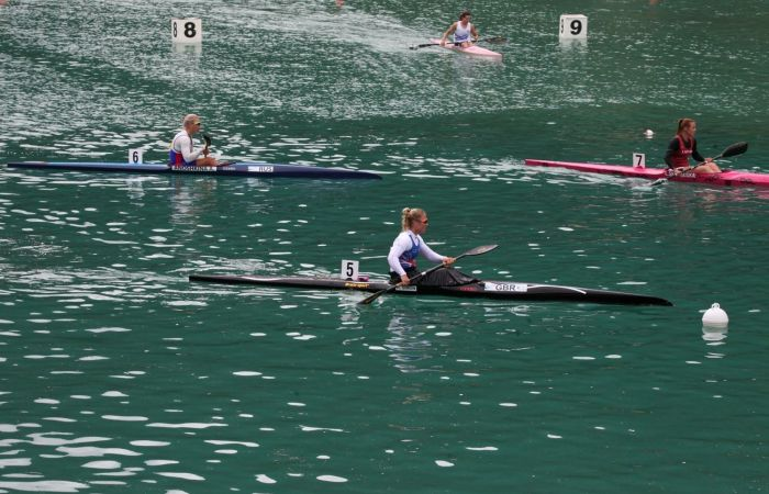A solid start for the GB team in Auronzo