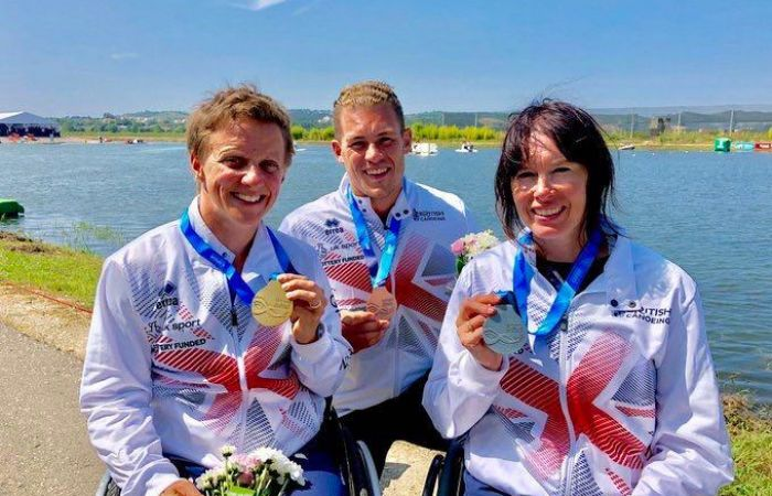 Table topping GB win 3 further medals as 2018 Paracanoe World Championships draws to a close