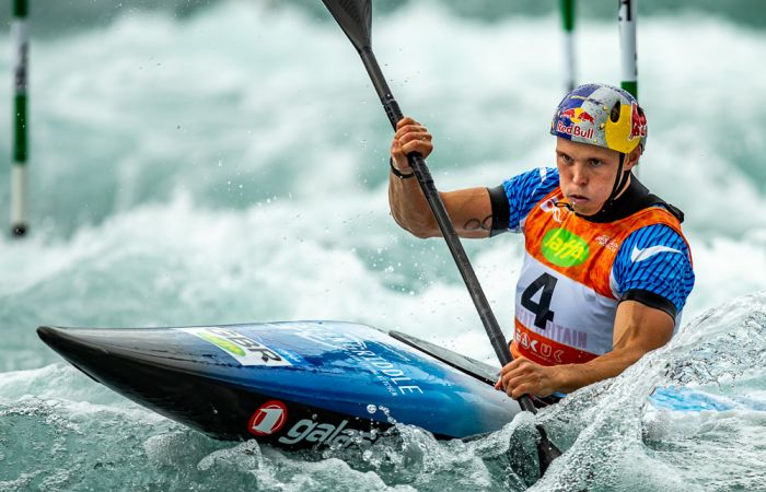 Stellar Start for GB at Home Slalom World Cup