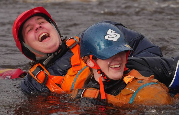 Safety & Rescue Training for Yorkshire Youngsters...