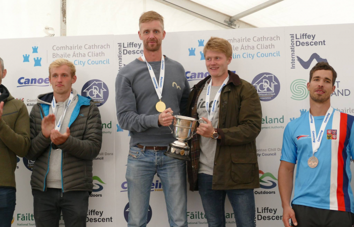 Brits Cresser and Lusty claim Liffey Descent 2018 title