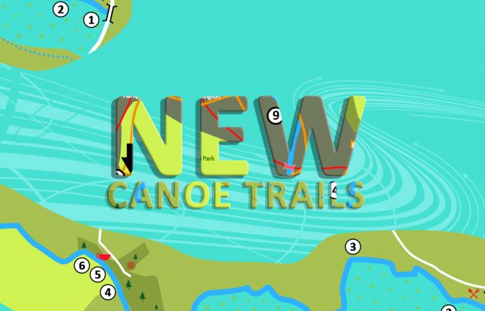 Five new 'Summer Sizzler' canoe trails