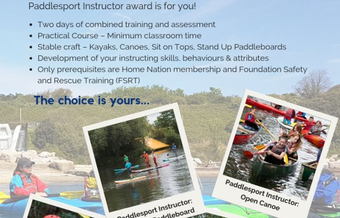 Become a Paddlesport Instructor!