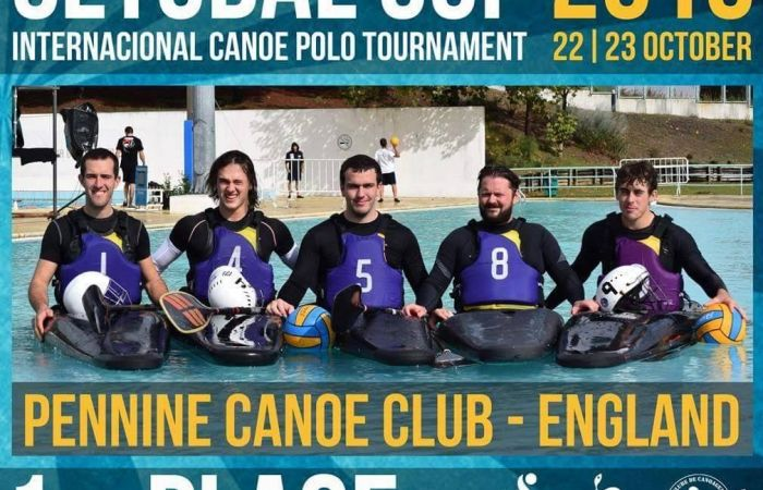 Pennine win Setúbal Cup - International Canoe Polo Tournament