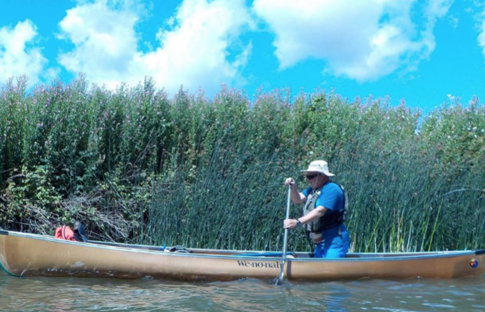 70 year old coach to complete the Bliss Canoe Trail solo