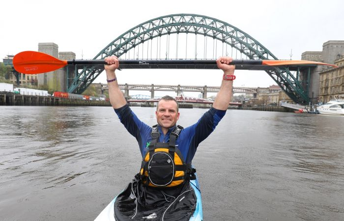 Army Veteran to paddle the length of Britain for The Royal British Legion