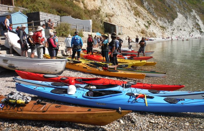 Blog: Sea Kayaking and Litter Picking at Durdle Door