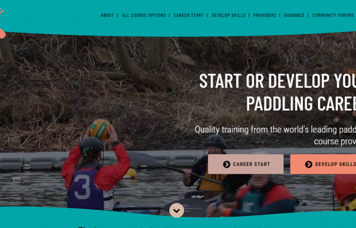 NEW Paddles Up Training website launched