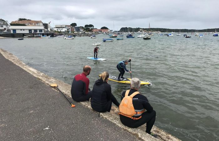 Hear from Owen, one of the first to run the NEW SUP Open Water Coach training
