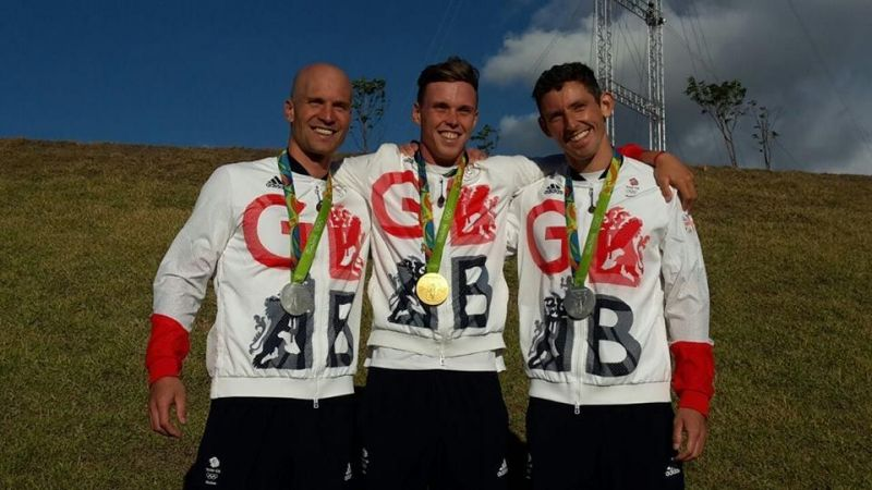 3 Slalom Olympic Medals