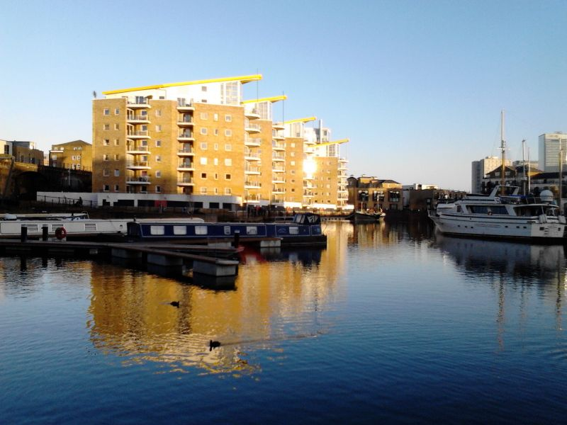 Limehouse Basin Credit Gordon Joly