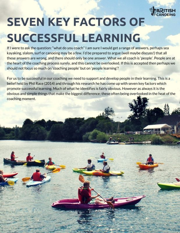 Seven Key Factors Of Successful Learning P1