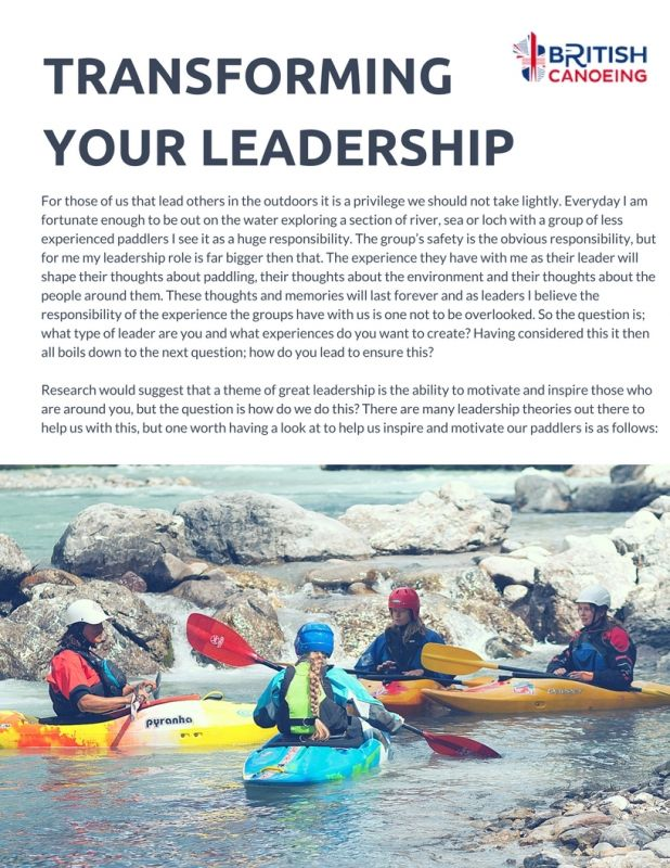Transforming Your Leadership P1