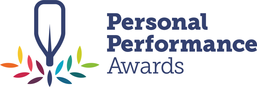 British Canoeing Personal Performance Awards Full Colour Linear