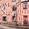 RDT Meeting - Aldwark