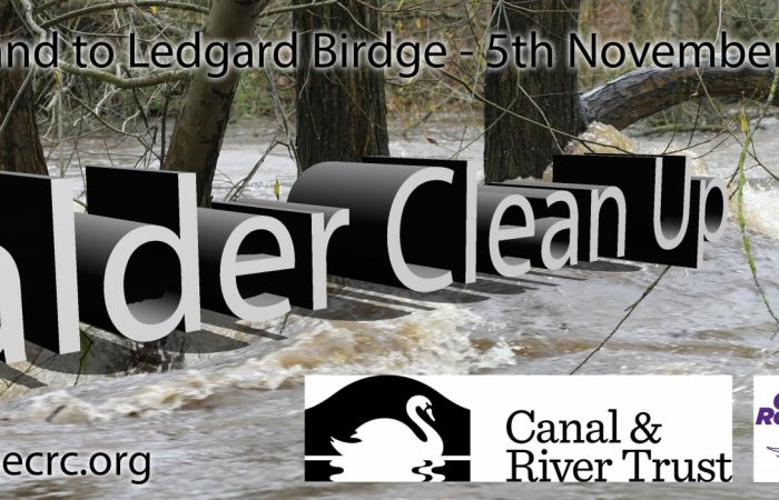 Join Pennine Canoe and Rowing Club for a River Clean up on 5th November!