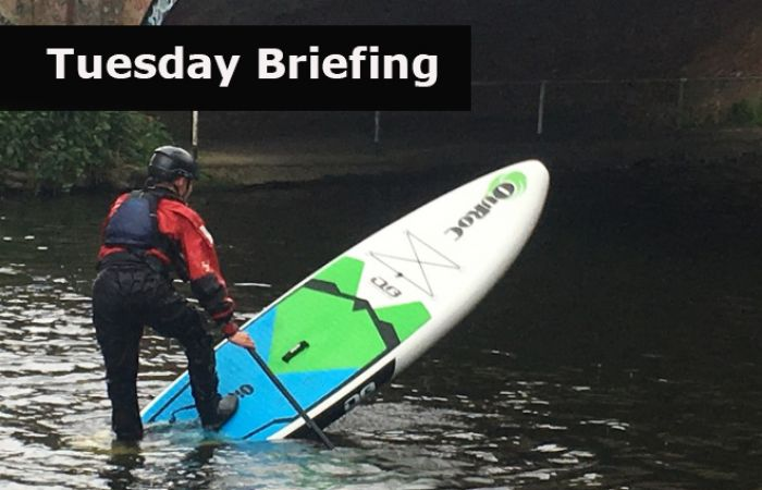 Tuesday Briefing SUP Personal Performance Award - what's involved?