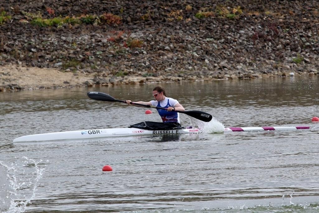 Silver for Philip Miles at junior and u23 Canoe Sprint Euro