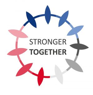 Stronger Together Ringand Text