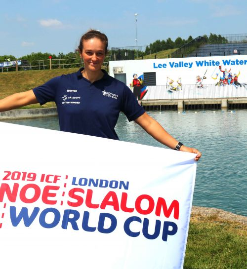 One year to go to the ICF 2019 Canoe Slalom World Cup London
