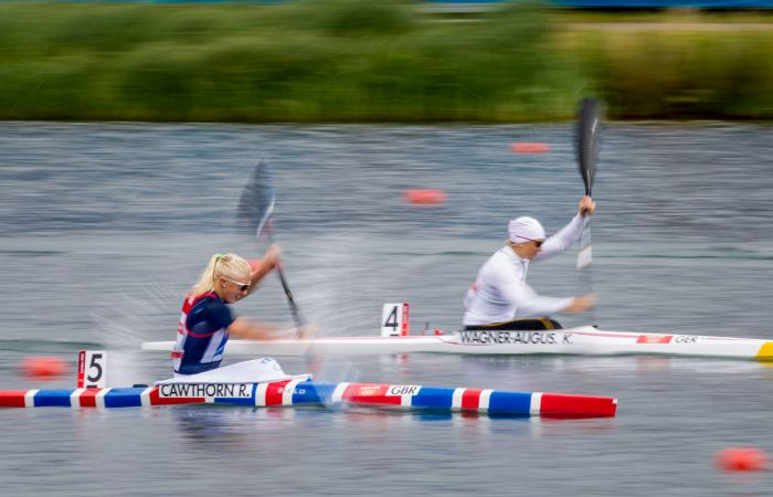 Two-time Olympian Rachel Schofield (Nee Cawthorn) calls time on competitive canoeing