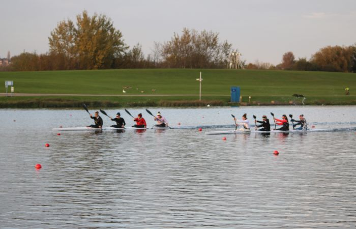 Paracanoe and Crew Boat Athletes Prepare For Selection Event at Season Opening Regatta