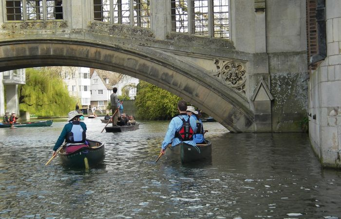 British Canoeing keeps Paddlers paddling on the Cam