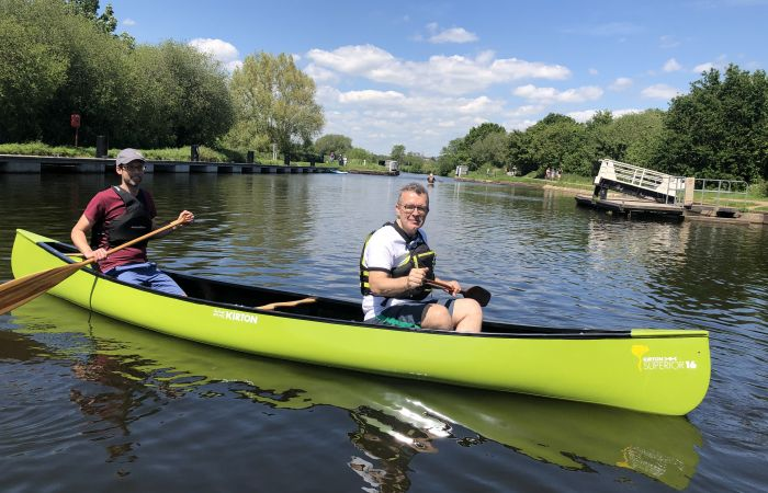 View from the Riverbank: from paddles to Parliament