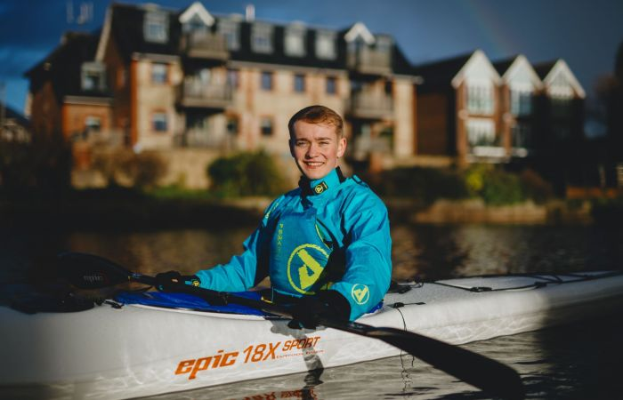 Billy Monger to complete marathon paddle for Comic Relief Challenge
