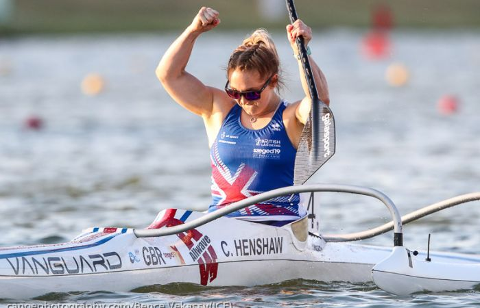 Two World Records and a gold medal for Henshaw on first day of World Championships