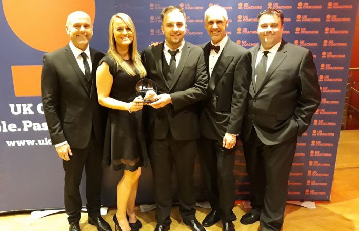 British Canoeing win two honours at UK Coaching Awards