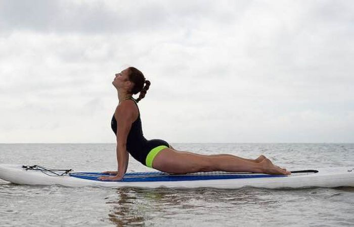#ShePaddles Ambassador Feature: 5 SUP Yoga poses to try this summer