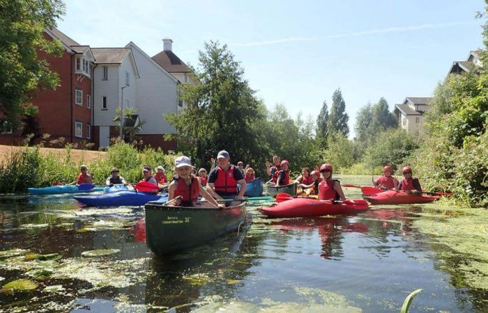 Canoe clubs join forces to paddle their way to cleaner rivers