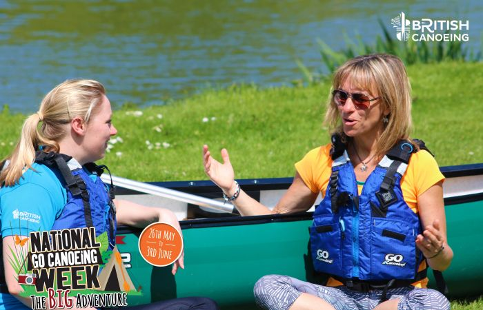 Michaela Strachan joins us for National Go Canoeing Week 2018