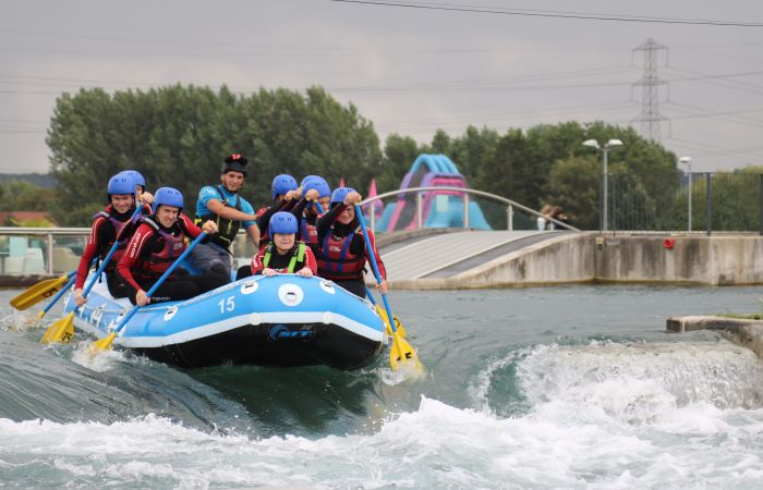 DCMS visit Lee Valley White Water Centre