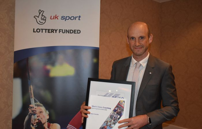 Mark Ratcliffe Graduates from UK Sport Elite Programme