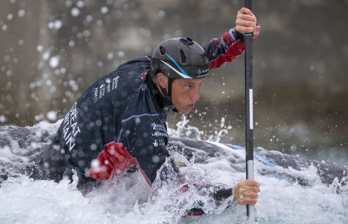 British Canoeing's Performance Athletes Return to Training