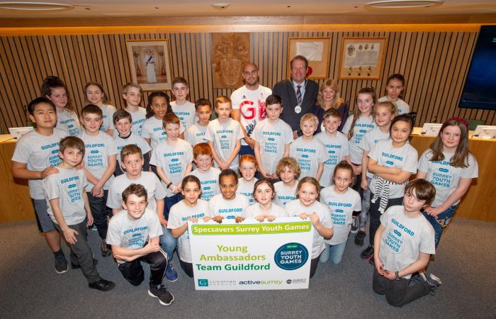 Liam Heath inspires young sports ambassadors